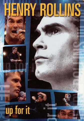 Henry Rollins: Up For It DVD Movie
