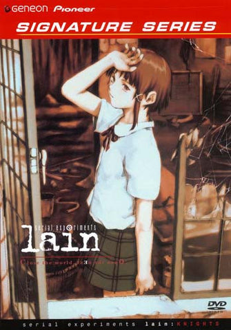 Serial Experiments - Lain: Knights (Layers 5-7) (Genoen Signature Series) DVD Movie