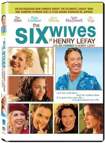 The Six Wives of Henry Lefay(Bilingual) DVD Movie