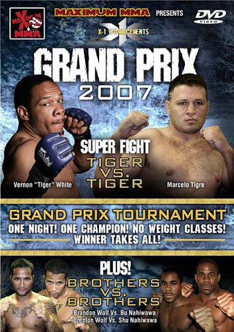 Maximum MMA Presents - X-1 - Grand Prix 2007 DVD Movie
