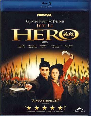Hero (Bilingual) (Blu-ray) BLU-RAY Movie