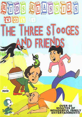 The Three Stooges And Friends (Kids Klassics) - Vol. 1 DVD Movie