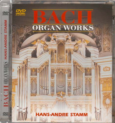 Bach Organ Works - Hans-Andre Stamm DVD Movie