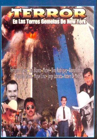 Terror en La Torres Gemelas de New York DVD Movie