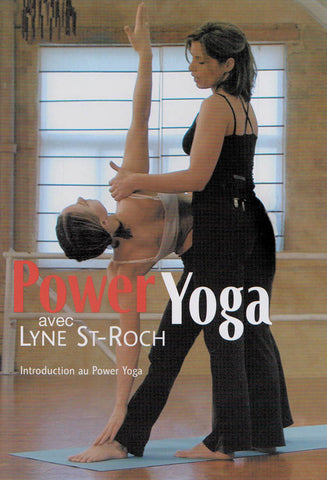 Power Yoga Avec Lyne St-Roch DVD Movie