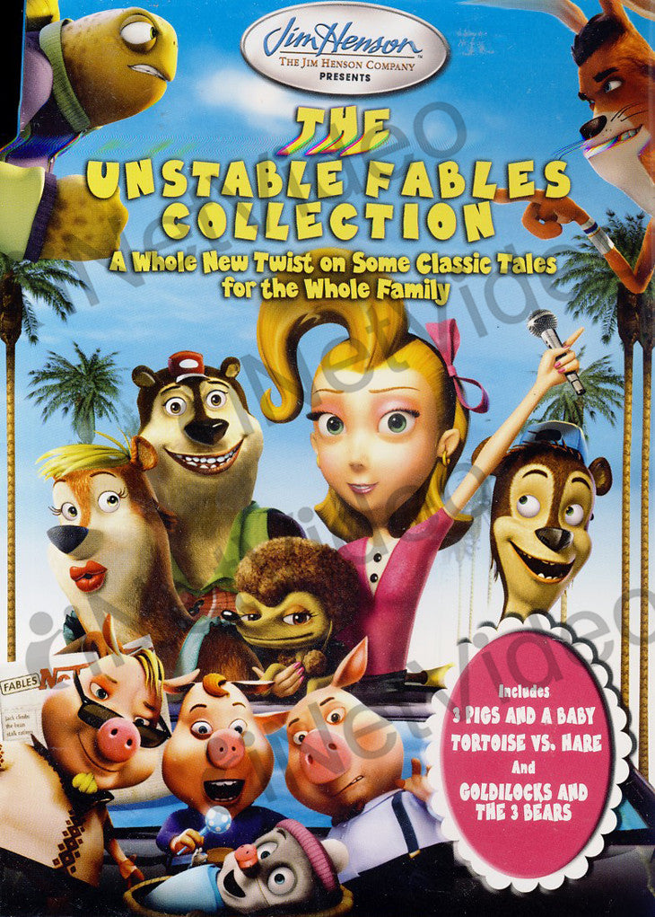 The Unstable Fables Collection Goldilocks And 3 Bears