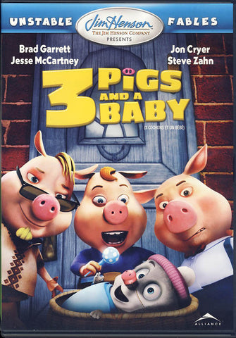 3 Pigs And A Baby (Bilingual) DVD Movie