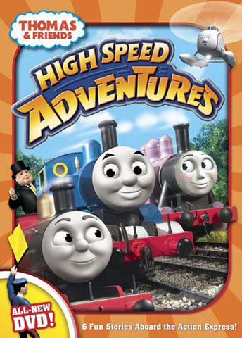 Thomas And Friends - High Speed Adventures (Bilingual) DVD Movie