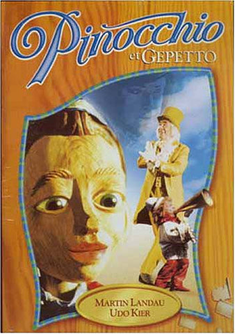 Pinocchio et Gepetto DVD Movie