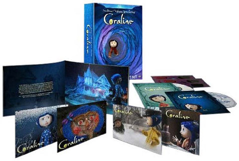 Coraline (Widescreen Limited Edition Gift Set)(Blu-ray) (Boxset) BLU-RAY Movie