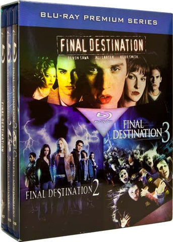 Final Destination (1/2/3) (Bilingual) (Blu-ray) (Boxset) BLU-RAY Movie