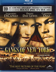 Gangs of New York (Single Disc) (Blu-ray) (Bilingual)