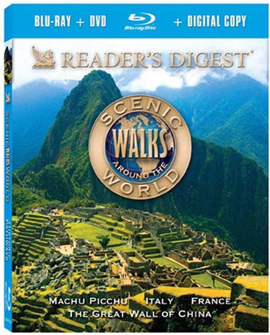 Scenic Walks Around the World - Historic Pathways (DVD + Blu-ray) (Blu-ray) BLU-RAY Movie