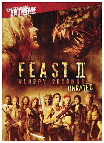 Feast II (2) - Sloppy Seconds (Unrated) DVD Movie
