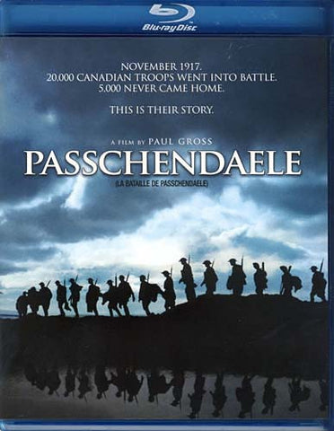 Passchendaele (Bilingual) (Blu-ray) BLU-RAY Movie