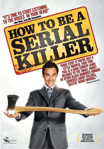 How To Be A Serial Killer DVD Movie