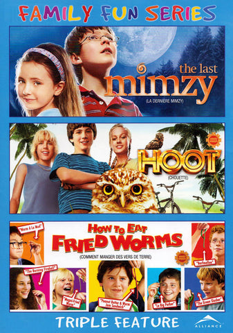 The Last Mimzy/Hoot/How To Eat Fried Worms (Triple Feature) (Bilingual) DVD Movie