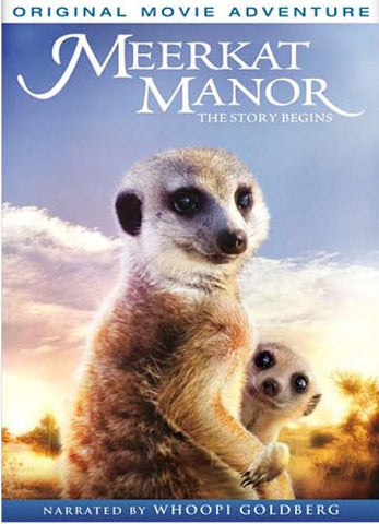 Meerkat Manor - The Story Begins DVD Movie