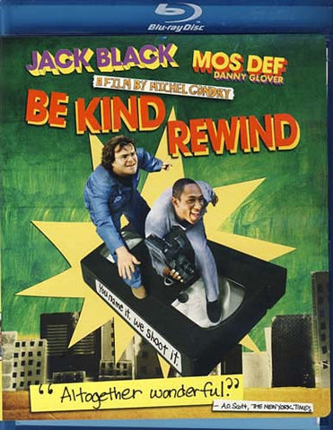 Be Kind Rewind (Blu-ray) BLU-RAY Movie