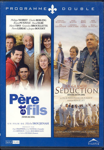 Pere Et Fils (Father and Sons)/ La Grande Seduction (Seducing Doctor Lewis) (Double Feature) DVD Movie