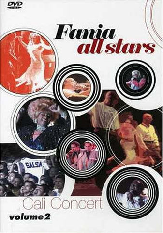 Fania All Stars - Cali Concert - Volume 2 DVD Movie