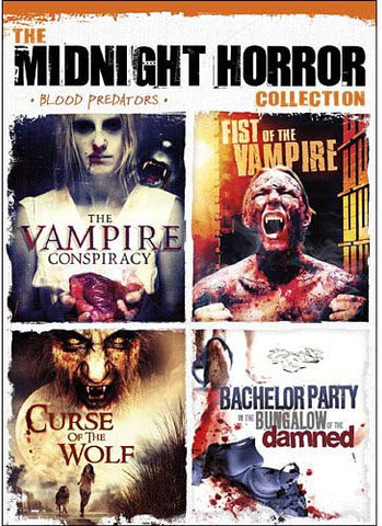 The Midnight Horror Collection - Blood Predators DVD Movie
