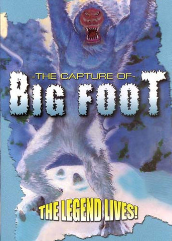 The Capture of Bigfoot DVD Movie