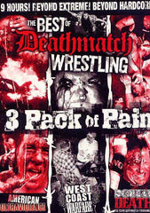 Best of Deathmatch Wrestling (Vol. - 2, 5 And 6) (Boxset)