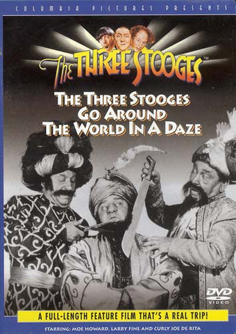 The Three Stooges Go Around the World in a Daze DVD Movie
