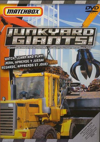 Matchbox - Junkyard Giants! DVD Movie