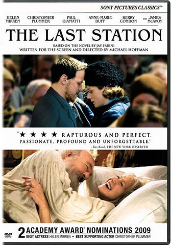 The Last Station DVD Movie