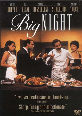 Big Night DVD Movie