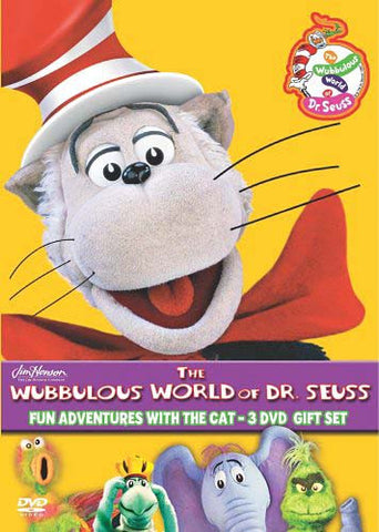 The Wubbulous World of Dr. Seuss - Fun Adventures With The Cat - 3 DVD Gift Set (Boxset) DVD Movie