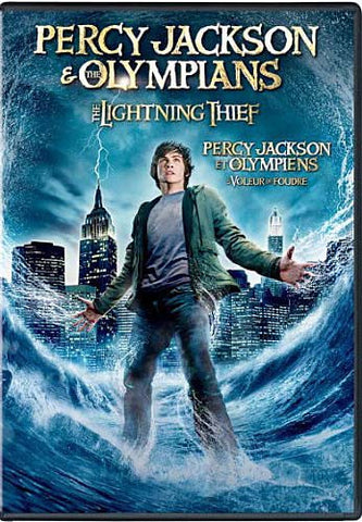 Percy Jackson And The Olympians - The Lightning Thief(Bilingual) DVD Movie