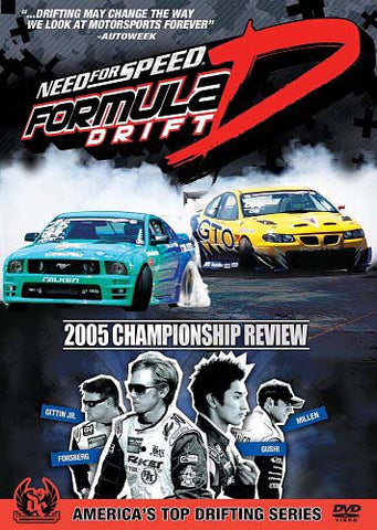 Need for Speed: Formula Drift - 2005 Championship Review DVD Movie