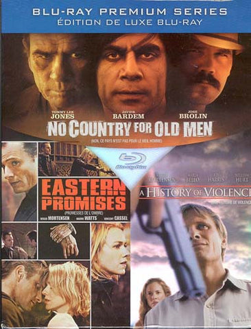 No Country For Old Men/Eastern Promises/A History Of Violence (Boxset) (Blu-ray) (Bilingual) BLU-RAY Movie