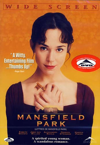 Mansfield Park DVD Movie
