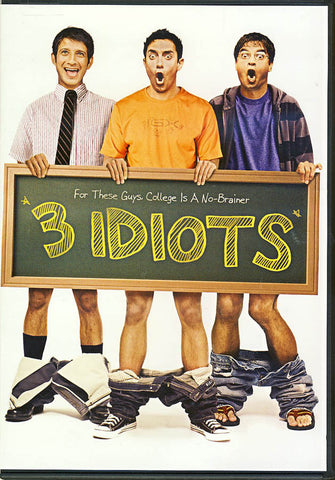 3 Idiots DVD Movie