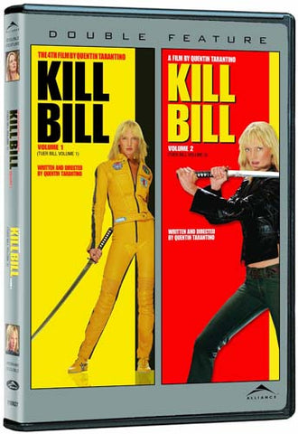 Kill Bill - Volume 1 And 2 (Double Feature) (Bilingual) (Gray Spine) DVD Movie