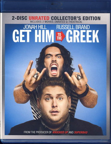 Get Him to the Greek (2-Disc Unrated Collector's Edition) (Blu-ray) BLU-RAY Movie