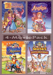 The Secret Of The Hunchback/The Secret Of Anastasia/The Secret Of Mulan/Moses Egypt's Great Prince