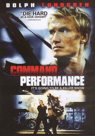 Command Performance DVD Movie