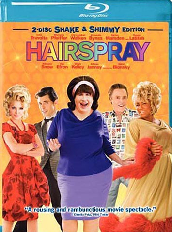 Hairspray (Two-Disc Shake And Shimmy Edition) (Blu-ray) BLU-RAY Movie