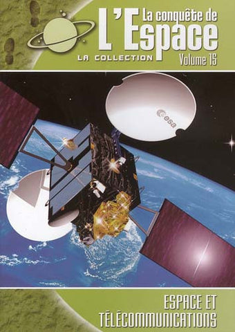 La Conquete De L' Espace - Espace Et Telecommunications (Vol. 15) DVD Movie