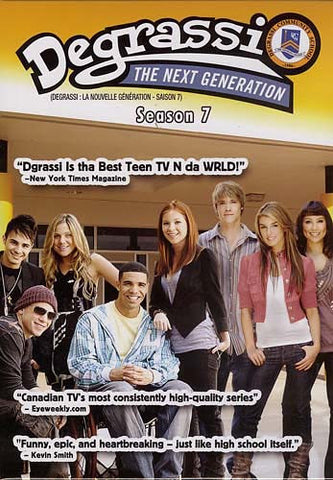 Degrassi - The Next Generation - Season 7 (Boxset) (Bilingual) DVD Movie