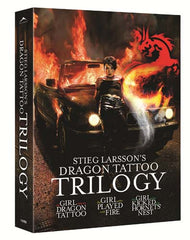 Stieg Larsson Dragon Tattoo Trilogy (English Dubbed Version)(Boxset)