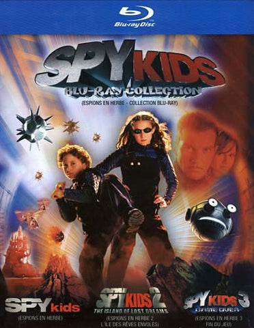 Spy Kids Collection (Blu-ray) (Boxset)(Bilingual) BLU-RAY Movie