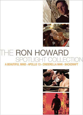 The Ron Howard Spotlight Collection (Backdraft/Apollo/A Beautiful Mind/Cinderella Man) (Boxset) DVD Movie