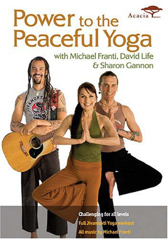 Power to the Peaceful Yoga DVD Movie