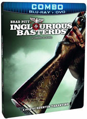 Inglourious Basterds (Combo Blu-ray + DVD Steelbook Case) (Bilingual) (Blu-ray)